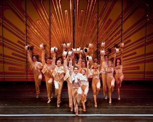 A Chorus Line Ensemble