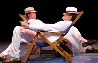 D.B. Bonds and Brent Barrett in Dirty Rotten Scoundrels