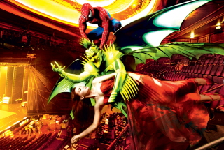Spider_Man, Green Goblin and Mary Jane